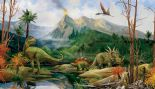 Candice Olson Kids CK7779M Dino Mural By York Wallcoverings